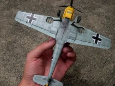 Eduard 1/48 scale Bf 109 E-1 by Pablo Angel Herrera: Image