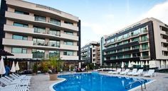 Lion Sunny Beach Hotel Sunny Beach This stylish, modern complex is located in the north part of Sunny Beach resort only 200 m from the beach and offers relaxing and comfortable accommodation in wonderful surroundings.