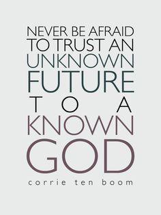 trust by corrie ten boom