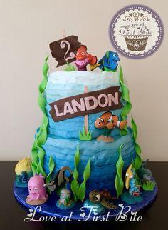 Finding Nemo Cake / Finding Dory Cake