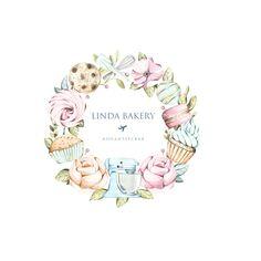58 ideas for design logo cake ideas Baking Logo Design, Cake Logo Design, Branding Design, Brand Identity Design, Corporate Branding, Bakery Business Cards, Business Card Design, Logo Panaderia, Dessert Logo