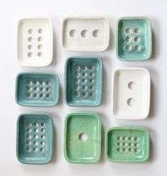 soap dishes by HAAPA ceramics