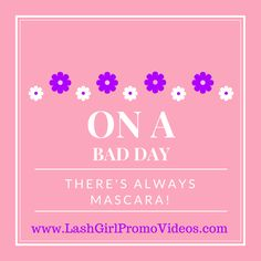 On a bad day, there's always mascara :D  https://instagram.com/keepcalmandlashon  #mascara #goodday