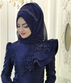 2018 Most Elegant Hijab Evening Dresses Gowns # pınarşems # hijab - Wedding Dresses 2019 Best Brindal Muslimah Wedding Dress, Hijab Style Dress, Muslim Wedding Dresses, Wedding Dress Trends, Muslim Dress, Bridal Hijab, Hijab Bride, Bridal Outfits, Girl Hijab
