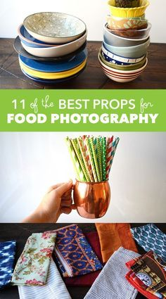 Photography tips   11 of the Best Props for Food Photography
