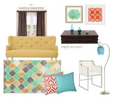 Simply Deco by lugarcia1994 on Polyvore featuring interior, interiors, interior design, hogar, home decor, interior decorating, Worlds Away, JCPenney Home, Jill Rosenwald and EFF