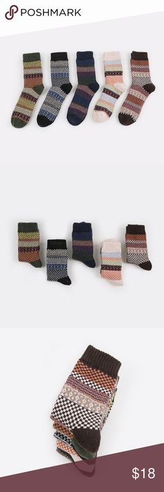 5 Pairs Men's Vintage Socks Cony Hair Fashion, colorful, comfortable socks. Condition:100% Brand New and High Quality Material: Cotton Gender: Men & boys Sock Length: Short Socks Size: one size(fit most people) Sock Type: casual  Pattern Type: crew Color Style: Natural Color  Product content: 5 Pairs of Socks Underwear & Socks Casual Socks