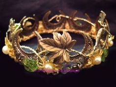 Headdresses Pagan Wicca Witch: Woodland #circlet. I'd love to make this with matching pieces.