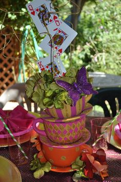 """Photo 1 of 27: Mad Hatter Tea Party / Birthday """"Isabella's 9th Birthday""""   Catch My Party"""