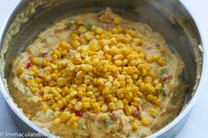 Trinidad Corn Pie - An Irresistible Corn Casserole loaded with tons of flavor and a little heat . A must make for the holidays. Corn Pudding Recipes, Oatmeal Recipes, Corn Pie, Trinidad Recipes, Trini Food, Cream Puff Recipe, Corn Casserole, Caribbean Recipes, Cooking Recipes