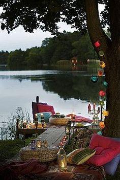 la vida Lago .: