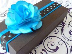 cajas decoradas para recuerdos de bodas