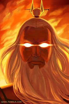 Avatar the Last Airbender/ Legend of Korra: Avatar Roku by =Qinni on deviantART