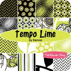 Tempo Lime - Love the bold and bright colors.  Going to use this to make pillows for our Great Room - all the right colors!