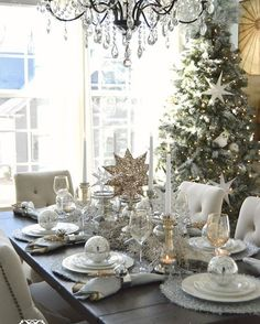 Dreaming of a white Christmas? Get the how to look on our blog now, LINK IN BIO - http://bit.ly/BDGWhiteHolidayDecor