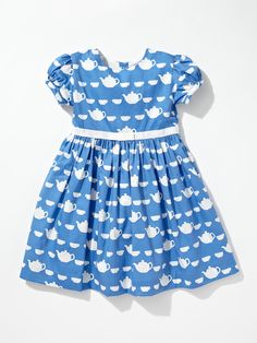 Tea Cup Print Dress by Rachel Riley at Gilt