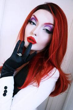 Roseshock as Jessica Rabbit. LOVE IT!
