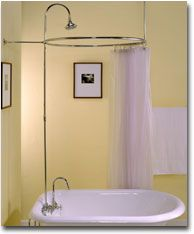 Shop 4 Classics Old House Blog: Curtains to 2009: Time To Change Your Clawfoot Tub...