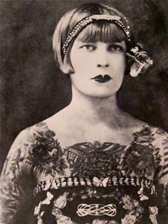 tattooed in the twenties