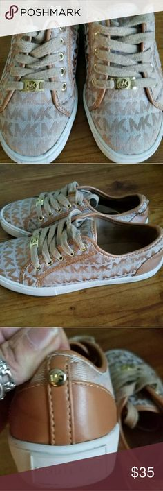 Michael kors girls shoes Young girls signature Michael kors shoes,no wear,could washed, I just haven't had time Michael kors  Shoes Sneakers
