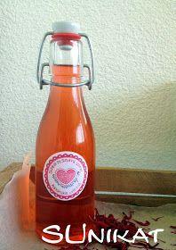 SUnikat: goldmelissensirup Hot Sauce Bottles, Drinks, Cooking, Health, Food, Smoothie, Lemonade, Marmalade, Sugar