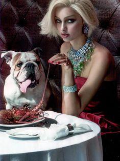 Luma Grothe for Vogue Brazil November 2013-Novela A Beira Mar