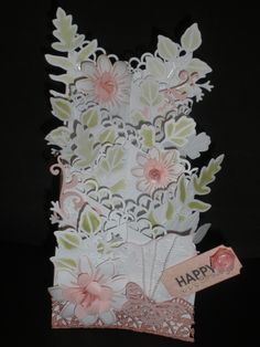 zig zag card for my bff Cascading Card, 3d Cards, Zig Zag, Cribs, Bff, Birthday Cards, Mixed Media, Scrapbooking, Paper Crafts