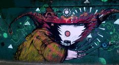 Graffiti on a wall street - Santo Andre - Brazil - http://www.psyche.com.br/Graf_Diversos