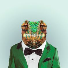 CHAMELEON by Yago Partal for ZOO PORTRAITS