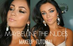 Maybelline The Nudes Makeup Tutorial ♡