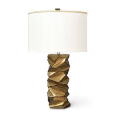 Palecek Peterson Table Lamp - Gold