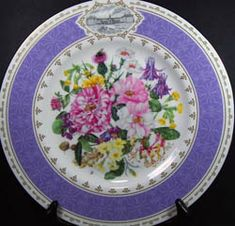 Royal Albert - Chelsea Flower Show Plates - Collector Plates www.royalalbertpatterns.com