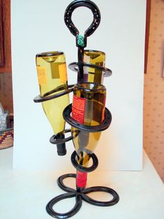 unique wine bottle holder