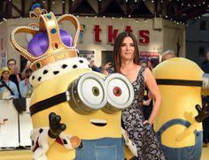 Sandra Bullock Minions Premiere Pictures   POPSUGAR Celebrity