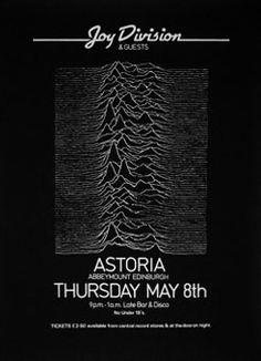 Joy Division Astoria Poster