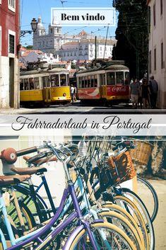 Mit Urlaub verbinden viele Menschen das süße Nichtstun. Aber es geht auch anders. Mit dem Fahrrad durch Portugal fahren zum Beispiel. Mehr dazu im Blog. Blog, Necklaces, Europe, Travel Report, People, Blogging