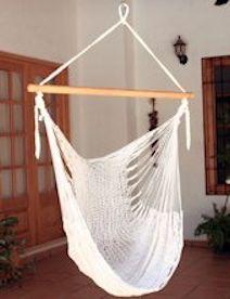 Ik heb dit plaatje gekozen omdat de zijkant vindt dus dat neem ik mee. ~fair trade Hangmatstoel naturel~