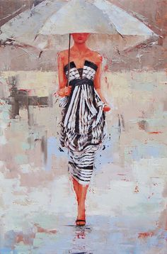 All Dressed Up Painting by Laura Lee Zanghetti