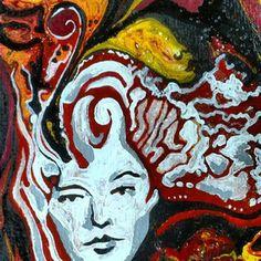 Girl portrait, retrato, dibujo, draw, paint, creation, creativity