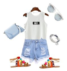 Summer day ❤️ by andratruelove on Polyvore featuring polyvore, fashion, style, Kate Spade, Lizzy James, Christian Dior and clothing