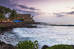 Kona Sunset on the Big Island of Hawaii. Hawaii Landscape, Framed Prints, Canvas Prints, Big Island, Kauai, Wood Print, Sunset, Wall Art, Beach