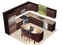 kitchen design 9 x 12  12 X 14 Kitchen Design With Island Layout only. | Addition - Kitchen ...