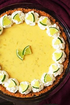"Easy Key Lime Pie - Recipes of holly Is about food that'll make you close your eyes, lean back, and whisper ""yessss. Quick Recipes, Pie Recipes, Summer Recipes, Sweet Recipes, Cooking Recipes, Cooking Ideas, Food Ideas, Best Key Lime Pie, Keylime Pie Recipe"
