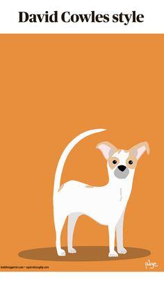 Dog Illustration, Digital Illustration, Illustration Styles, Animal Illustrations, Wolf Spirit Animal, Animal Graphic, Picture Logo, Dog Art, Art Techniques