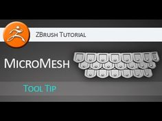 #ZBrush #tutorial on using #MicroMesh to create detailed armor parts. Check it out, share, like, subscribe. :)