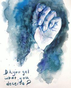 Arm Sketch Watercolor