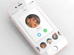 Chat App Experience designed by RiverCity. Connect with them on Dribbble; User Interface Design, Ui Ux Design, Tool Design, Ios, Chat App, Ui Inspiration, Mobile Ui, Design Reference, Wordpress Theme