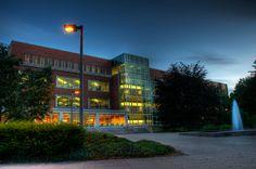 Main Library at Michigan State University in East Lansing, MI