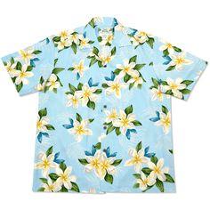 escape hawaiian aloha rayon shirt