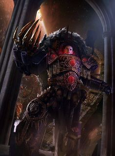 - Image chaos horus horus_heresy inside_ships portrait primarch sons_of_horus Warhammer 40k Art, Warhammer Fantasy, Chaos 40k, Sons Of Horus, The Horus Heresy, Space Wolves, Game Workshop, Space Marine, Character Art